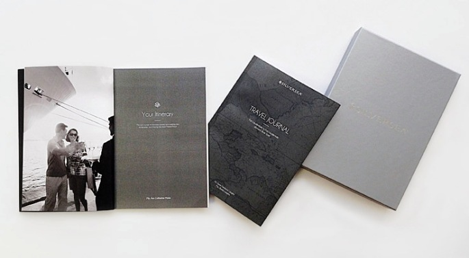 Silversea to issue spiffy Travel Journals to passengers prio to cruise